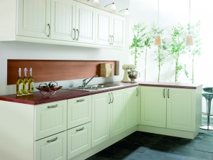 Combining traditional and contemporary tongue and groove panelling-kitchen centre liverpool