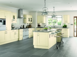 Italian made to measure classic ivory curved doors-kitchen centre liverpool