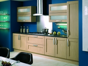 Ohio oak traditional shaker doors-kitchen centre liverpool